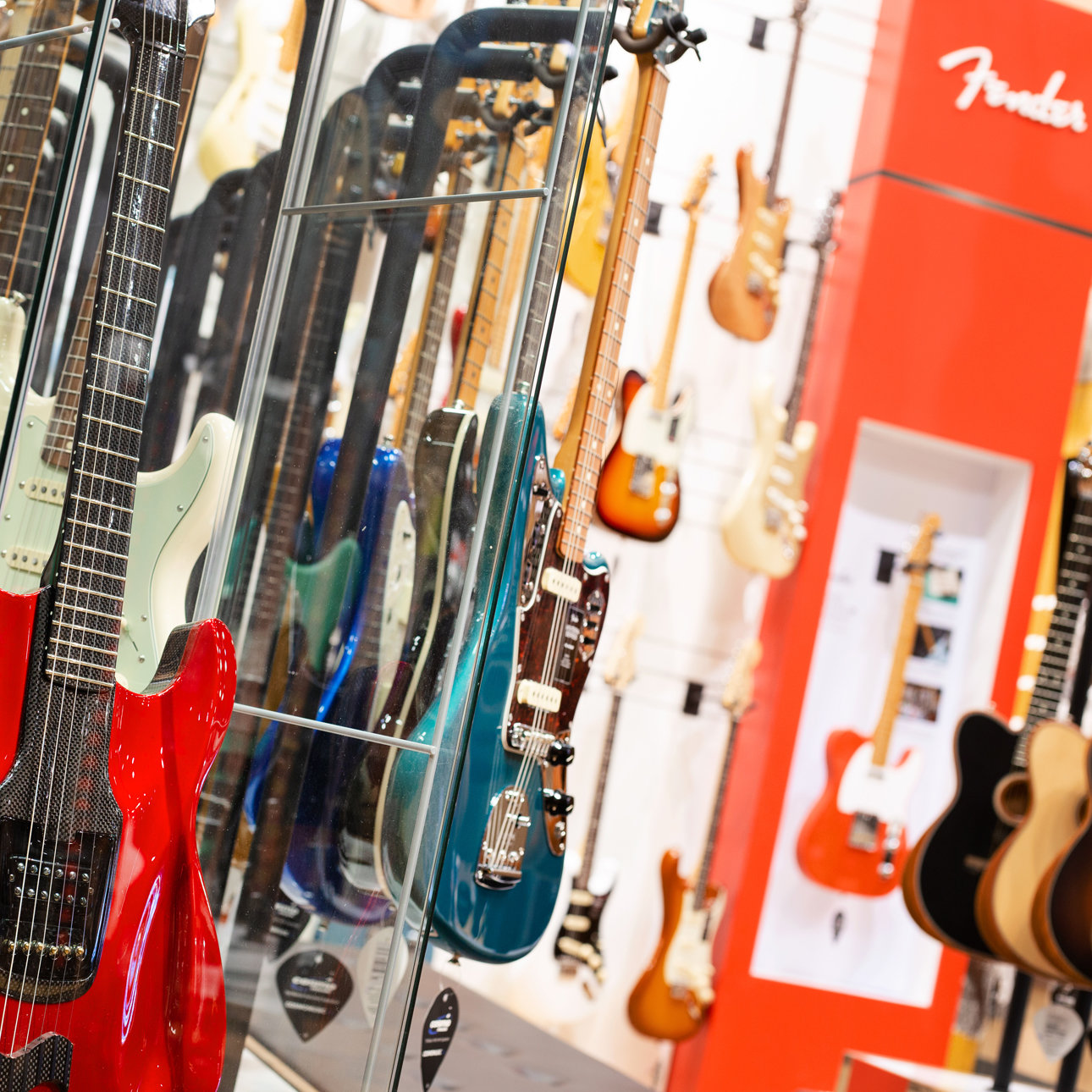 Fender at Cosmo Music