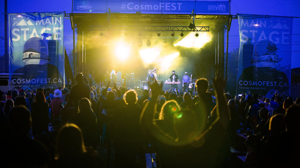 CosmoFEST Main Stage