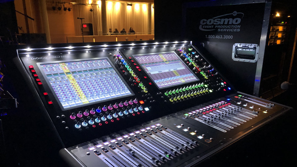 DiGiCo Mixing Console - Cosmo Pro Event Production