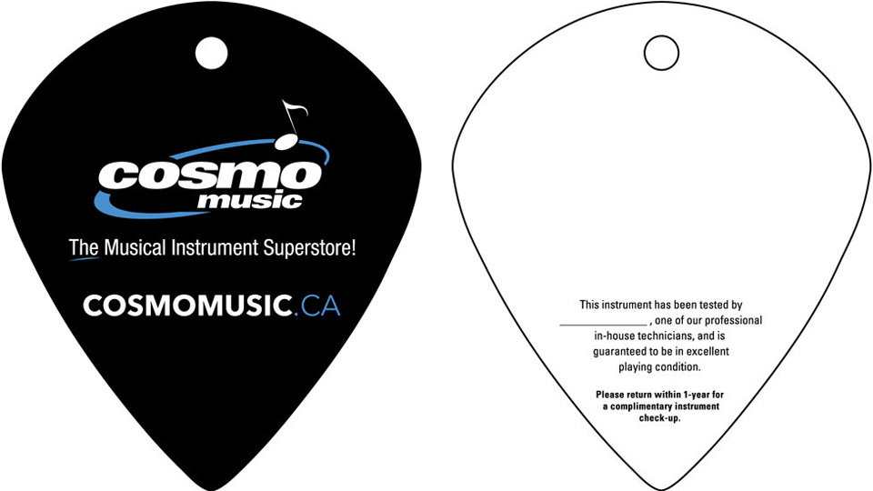Cosmo Music's Quality Assurance Tag