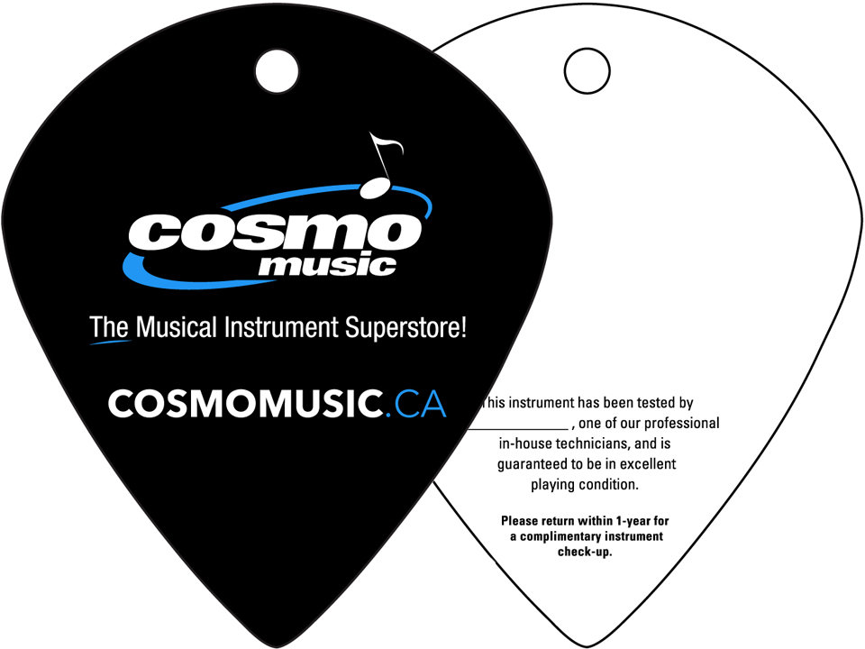 Cosmo Music Quality Assurance Tag