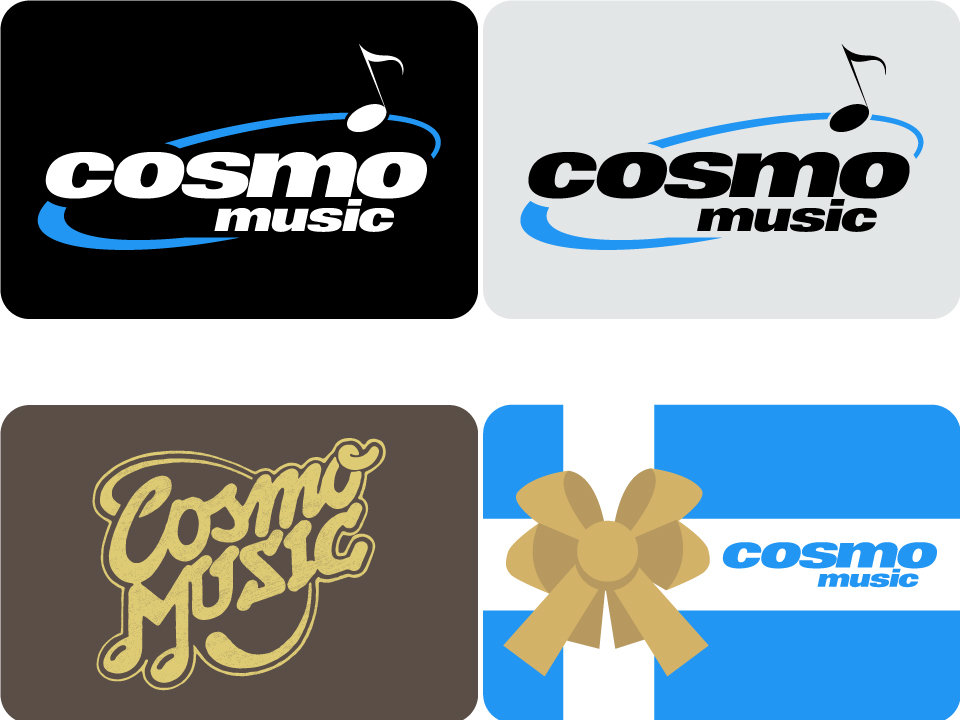 Cosmo Music In-Store Gift Cards