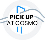 Pick Up Order At Cosmo Badge
