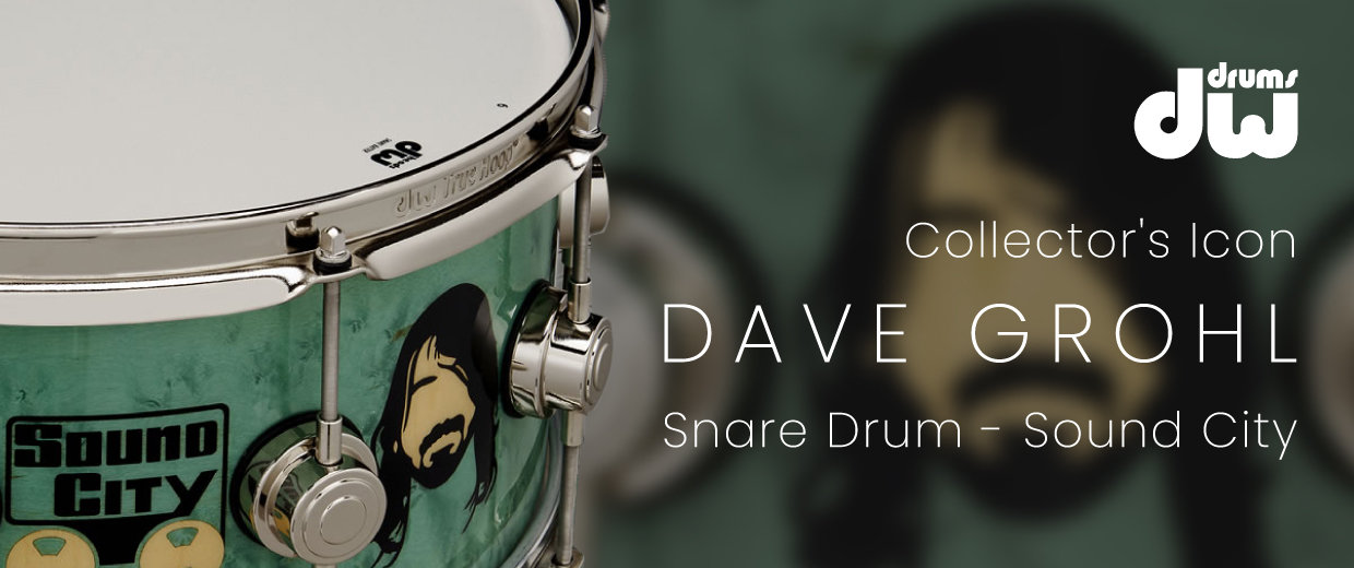 DW Dave Grohl Icon Snare