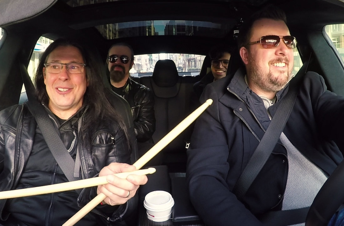 Rockstars In Cars with Mike Mangini