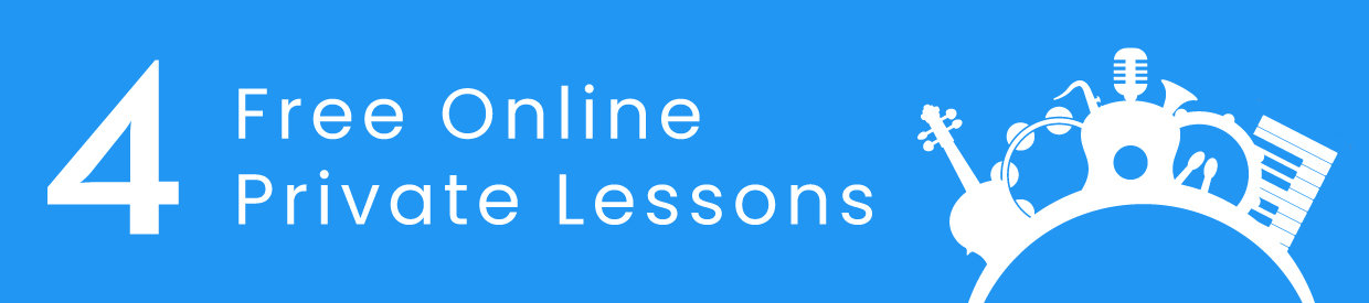 Cosmo School of Music - 4 Free Online Private Lessons