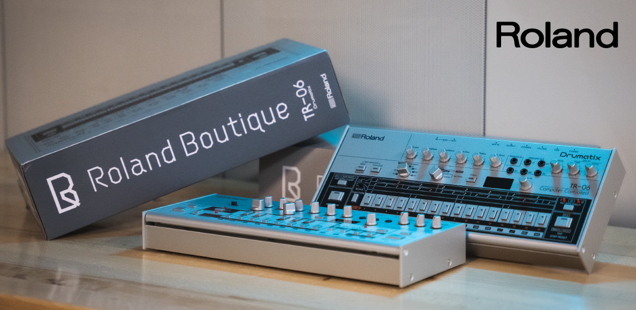 Save $55 on Roland TR-06 and TB-03