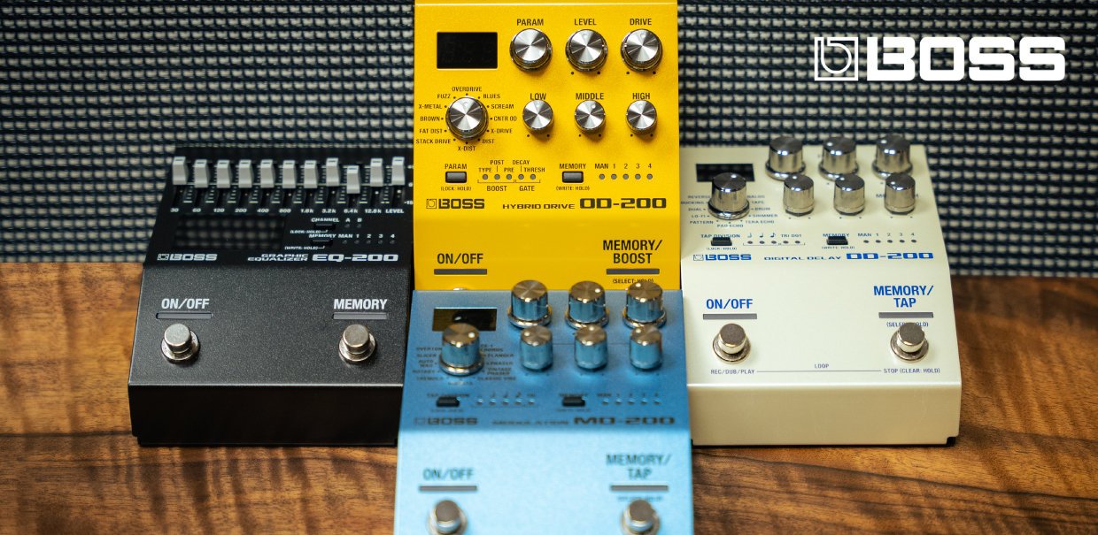 Save $25 on Select Boss Pedals