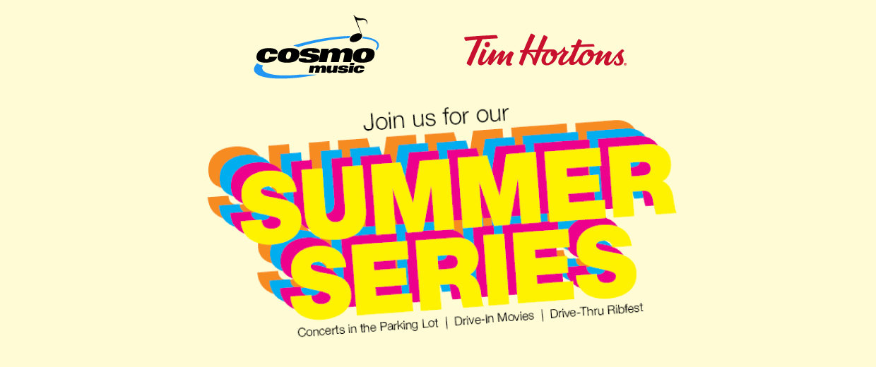Richmond Hill Summer Series presented by Cosmo Music and Tim Hortons