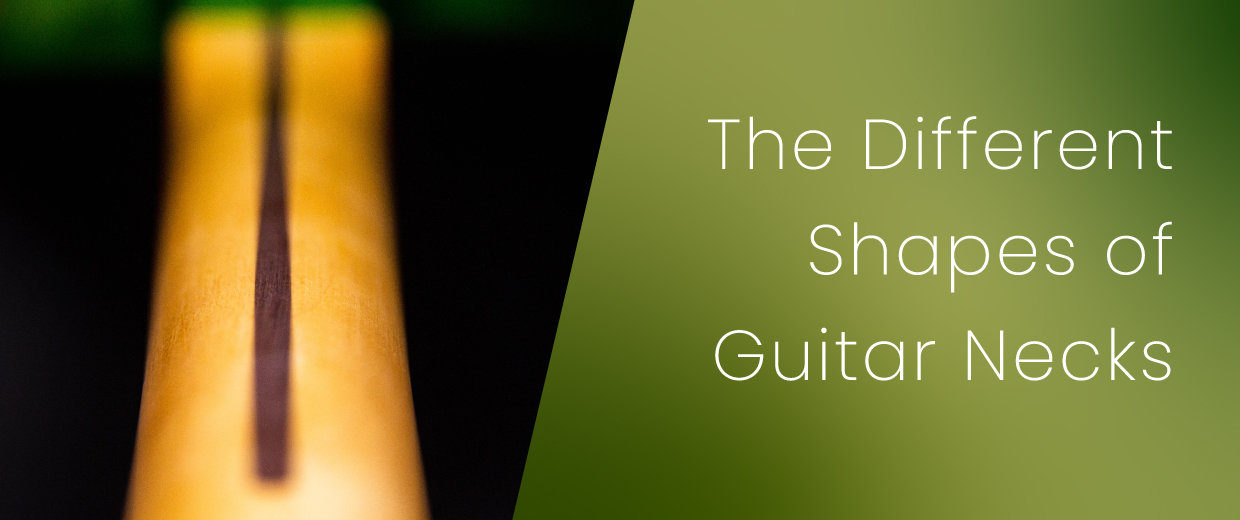The Different Shapes of Guitar Necks