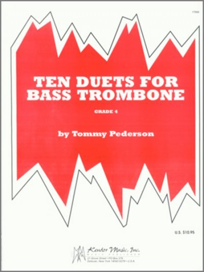 View larger image of 10 Duets For Bass Trombone