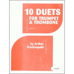 10 Duets For Trumpet & Trombone