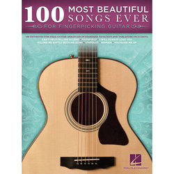 100 Most Beautiful Songs Ever for Fingerpicking Guitars