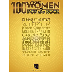 100 Women of Pop and Rock - Piano/Vocal/Guitar