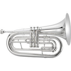1000 Series JBR1000MS Marching Baritone - Silver, with Case