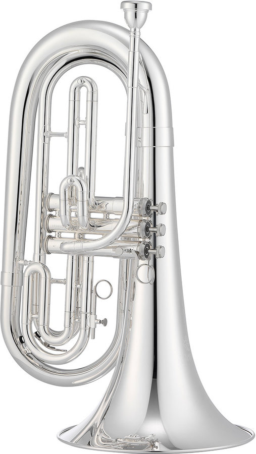 View larger image of 1000 Series JBR1000MS Marching Baritone - Silver, with Case
