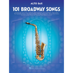 101 Broadway Songs for Alto Sax