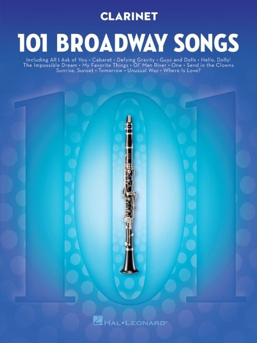 View larger image of 101 Broadway Songs for Clarinet