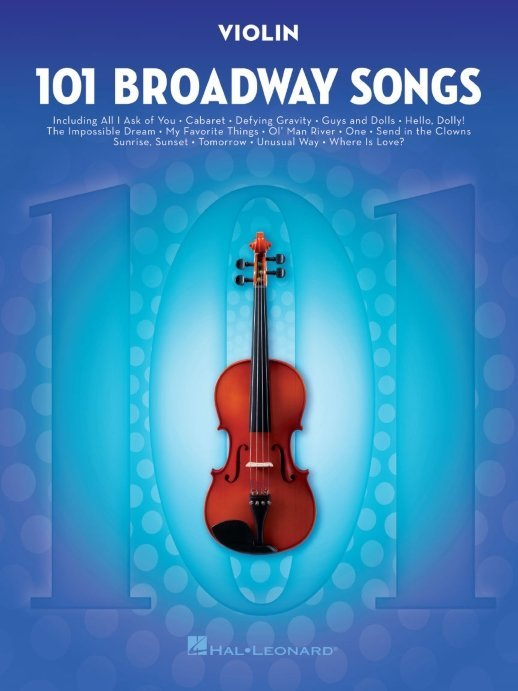 View larger image of 101 Broadway Songs for Violin