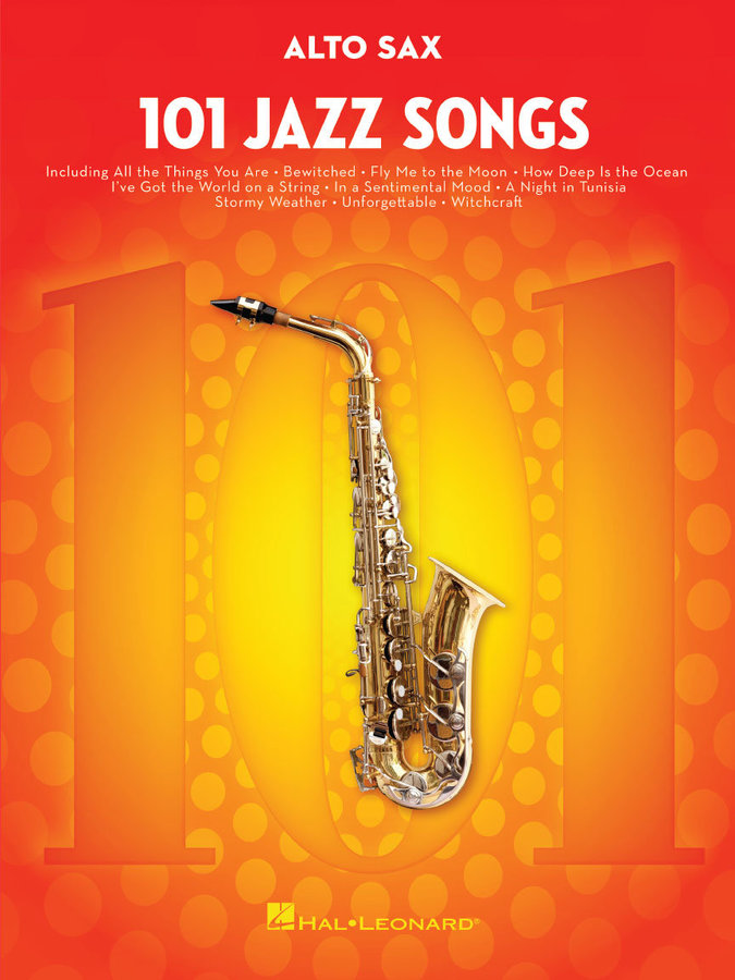 View larger image of 101 Jazz Songs for Alto Sax