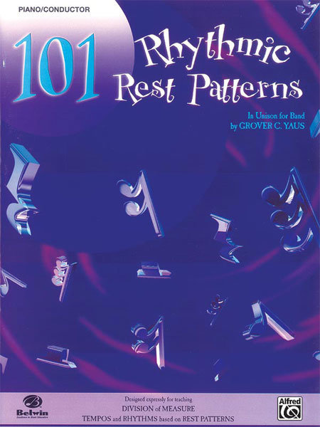 View larger image of 101 Rhythmic Rest Patterns - Conductor/Piano
