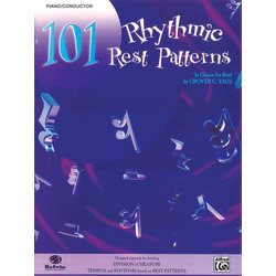 101 Rhythmic Rest Patterns - Conductor/Piano
