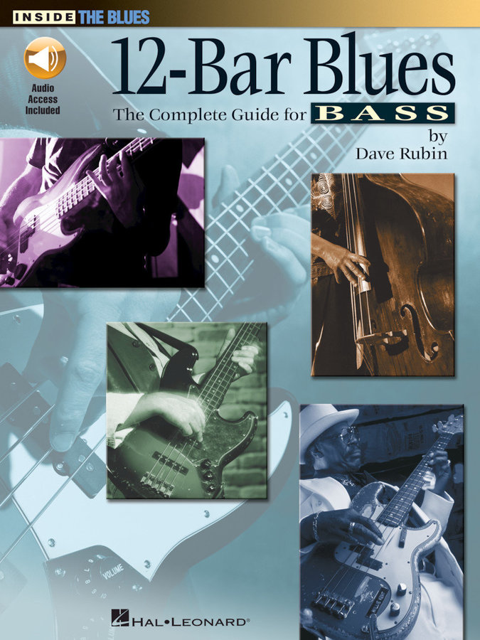 View larger image of 12 Bar Blues: The Complete Guide for Bass w/Online Audio