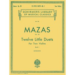 12 Little Duets, Op. 38 - Book 1 - (Mazas)