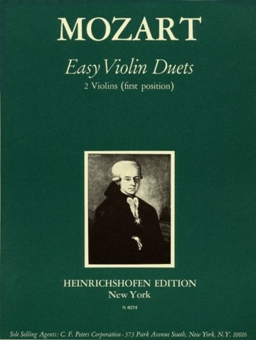View larger image of 13 Easy Violin Duets (Mozart) - 1st Position