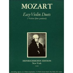 13 Easy Violin Duets (Mozart) - 1st Position