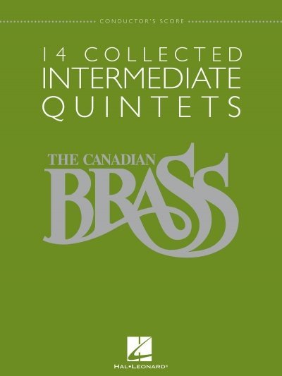 View larger image of 14 Collected Intermediate Quintets (The Canadian Brass) - Score