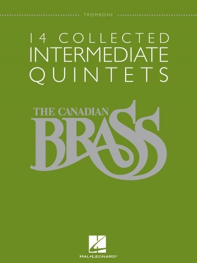 View larger image of 14 Collected Intermediate Quintets (The Canadian Brass) - Trombone