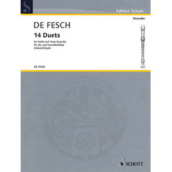 14 Duets for Alto & Tenor Recorders
