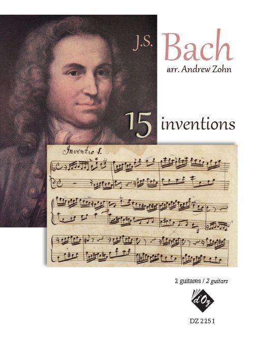 View larger image of 15 Inventions,(Bach) (Guitar Duet)