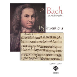 15 Inventions,(Bach) (Guitar Duet)