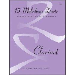 15 Melodious Duets - (Clarinet Duet)
