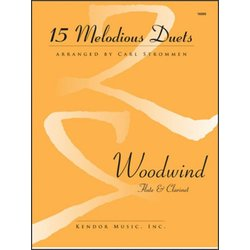 15 Melodious Duets - Woodwind (Flute/Clarinet Duet)