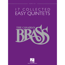 17 Collected Easy Quintets (The Canadian Brass) - Horn