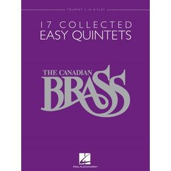 17 Collected Easy Quintets (The Canadian Brass) - Trumpet 2