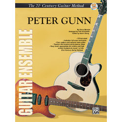 21st Century Guitar Ensemble - Peter Gunn w/CD