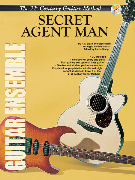 View larger image of 21st Century Guitar Ensemble - Secret Agent Man w/CD