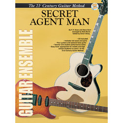 21st Century Guitar Ensemble - Secret Agent Man w/CD