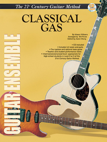 View larger image of 21st Century Guitar Ensemble Series - Classical Gas with CD