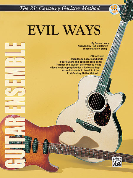 View larger image of 21st Century Guitar Ensemble Series - Evil Ways with CD