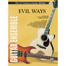 21st Century Guitar Ensemble Series - Evil Ways with CD