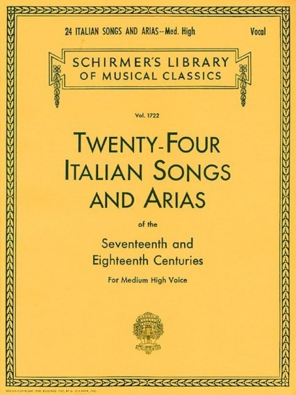 View larger image of 24 Italian Songs And Arias (Of The 17th & 18th Centuries) - Medium High Voice