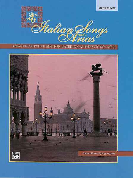 View larger image of 26 Italian Songs and Arias - Medium Low