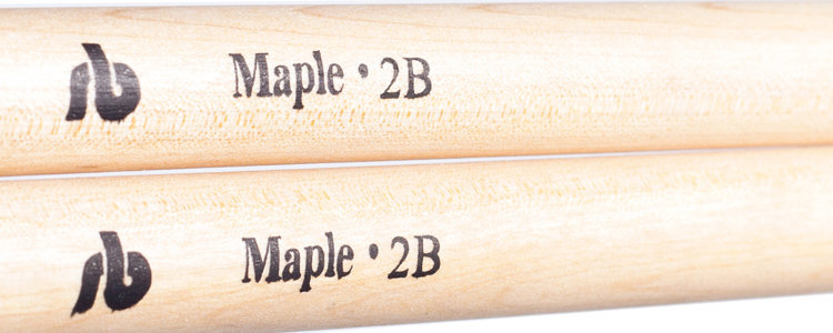 View larger image of 2B Maple Drum Sticks - Wooden Tip