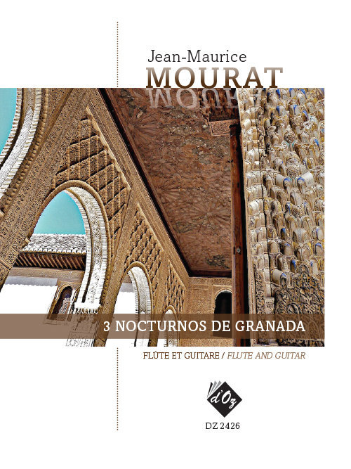 View larger image of 3 Nocturnos De Granada (Mourat) - Guitar & Flute