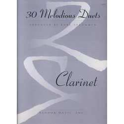30 Melodious Duets - Clarinet